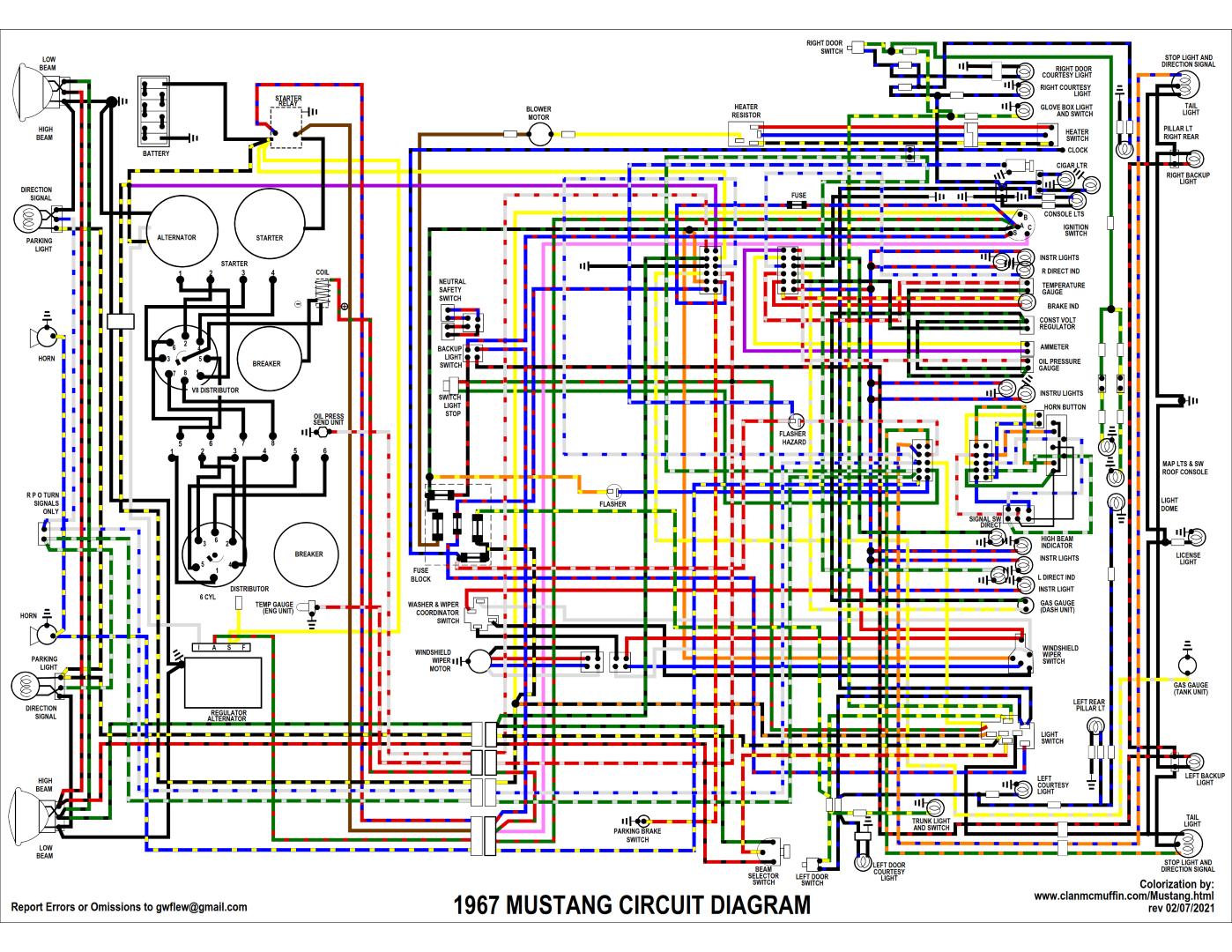mustang wiring diagrams  stone circles