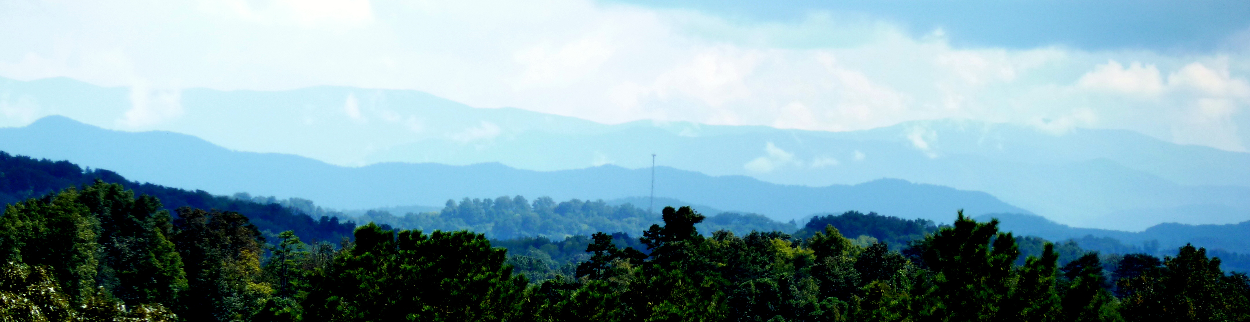 The Smokies from near Taig an Drama